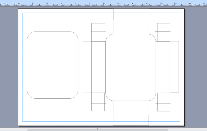 Diy merque the suitcaseluggage template i drafted on ms publisher pronofoot35fo Images